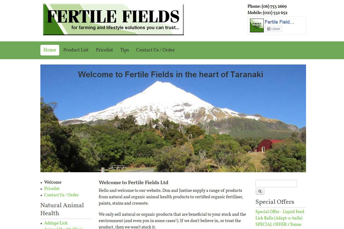 Fertile Fields Ltd